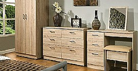 Devon Bedroom Range (Bardolino Oak Finish) - Welcome Furniture