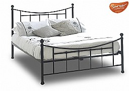 Bristol Black Bed Frame (Metal) - SAREER