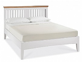 Hampstead Wooden Bed Frame (Two Tone) - Bentley Designs