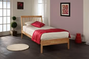 Ananke Birch Bed Frame  - Limelight Beds