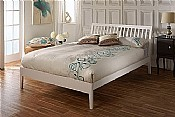 Ananke Bed Frame (White) - Limelight Beds