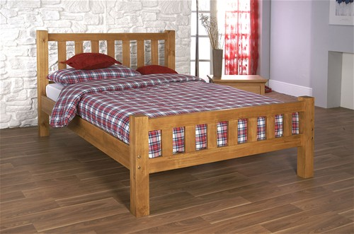 Astro Bed Frame (Pine) - Limelight Beds