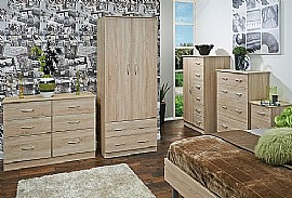 Avon (Bardolino) Bedroom Range - Welcome Furniture