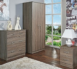 Avon (Darkolino) Bedroom Range - Welcome Furniture