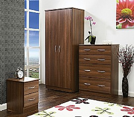 Avon (Noche Walnut Finish) Bedroom Range - Welcome Furniture