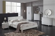 Aztec (White High Gloss finish) Bedroom Range - Birlea