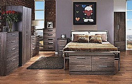 Contrast Wood Bedroom Range (16 Nature Inspired finishes) - Welcome Furniture