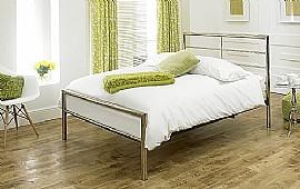Celestial Bed Frame (Satin Chrome) -  Limelight Beds