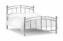 Chatsworth Bed Frame (Aluminium) - Julian Bowen