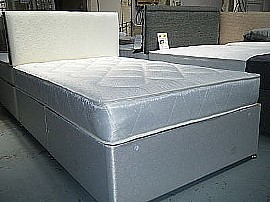 Damask Quilted (Soft - Open Coil) Mattress