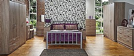Devon Bedroom Range (Darkolino) - Welcome Furniture