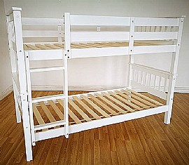 Dublin White Bunk Bed