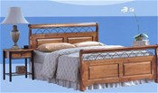 Duke Oak Bed Frame - Ambers International