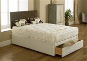 Edinburgh  Ortho Divan Bed (Medium/Firm) - Economy Range - MA