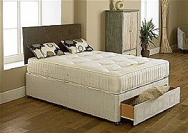 Edinburgh Traditional Divan Set (Regular to Firm)