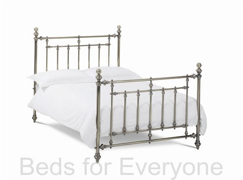 Imperial  Antique Brass Bed Frame (Metal) - Bentley Designs