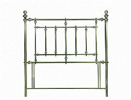 Imperial Antique Brass Headboard - Bentley Designs