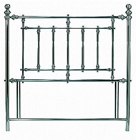 Imperial Antique Nickel Headboard - Bentley Designs