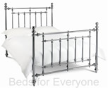 Imperial Bed Frame (Antique Nickel) - Bentley Designs