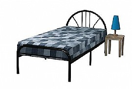 Jennifer 3ft Single Metal Bed (3 Colours)