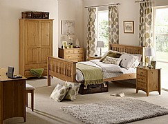 Kendal Bedroom Furniture (Solid Pine) - Julian Bowen