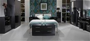 Knightsbridge (Black High Gloss finish) Bedroom Range - Welcome