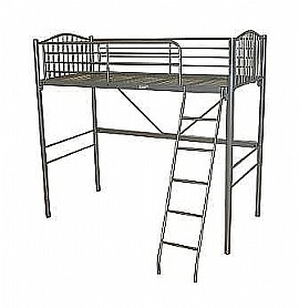 Loft High Sleeper Bunk (Silver) - Ambers International