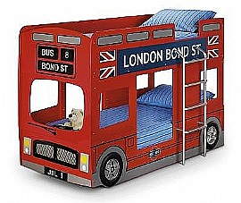 London Bus Bunk Bed - Julian Bowen