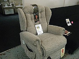Lynton 'Small' Lift & Rise Recliner - SUL