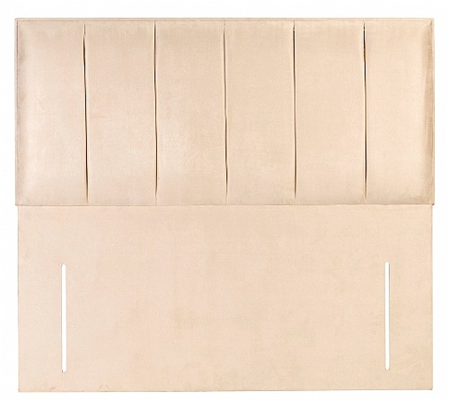 Malaga (Faux Leather) Floor Standing Headboard - 4 Colours, 3 Sizes