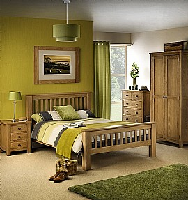 Marlborough Bedroom Range (Oak) - Julian Bowen