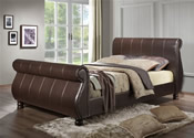 Marseille Bed Frame (Brown) - Birlea Furniture