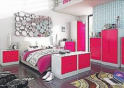 Monaco Pink Vibrant Gloss (14 Colour combinations available)