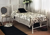 Nimbus Bed Frame (Ivory Gloss) -  Limelight Beds