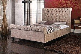 Orbit Bed Frame (Mink) - Limelight Beds