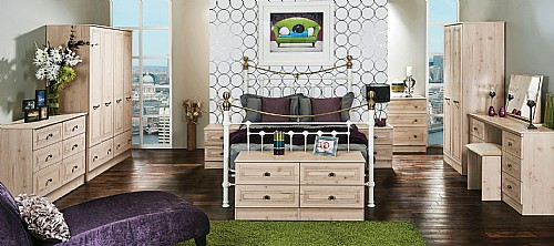 Oyster Bay Californian Beech Bedroom Range - Welcome Furniture