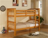Pavo Bunk Bed (Pine) - Limelight Beds