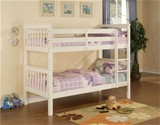 Pavo Bunk Bed (White) - Limelight