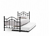 Paris Single Bed & Guest Bed (Black) - Serene Furnishings
