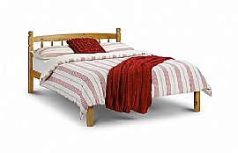 Pickwick Wooden Bed Frame (Pine) - Julian Bowen