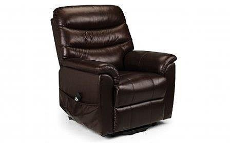 JB Pullman Leather Rise & Recline Chair