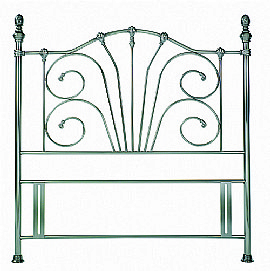 Rebecca  Headboard (Antique Nickel) - Bentley Designs