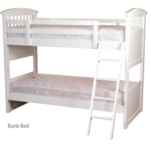 Ruby Bunk Bed (White) - Sweet Dreams