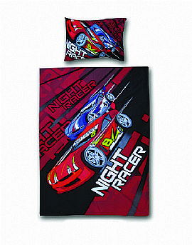 Scorpion Racing Car Bedding