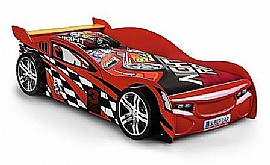 Scorpion Racer Novelty Bed (Red) & Bedding -  Julian Bowen