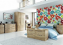 Sherwood (Bordeaux Oak Finish) Bedroom Range - Welcome Furniture