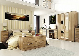Sherwood (Modern Oak finish) Bedroom Range  - Welcome Furniture