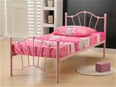 Sophia Bed Frame (Pink) -  Birlea Furniture