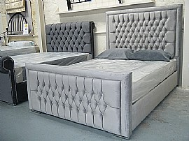 Sophie Upholstered Bed Frame