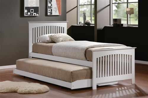 Toronto 3ft Guest Bed (White) - Birlea Furniture